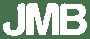 JMB Kiinteistöt Oy logo valkoinen