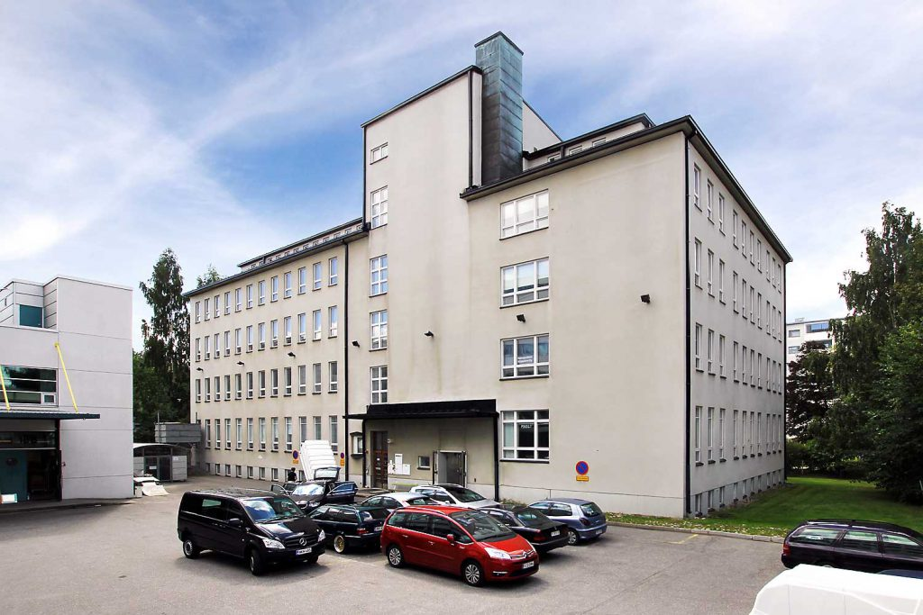 Itälahdenkatu 18 C julkisivukuva, vuokrattavat toimitilat Helsinki JMB Kiinteistöt