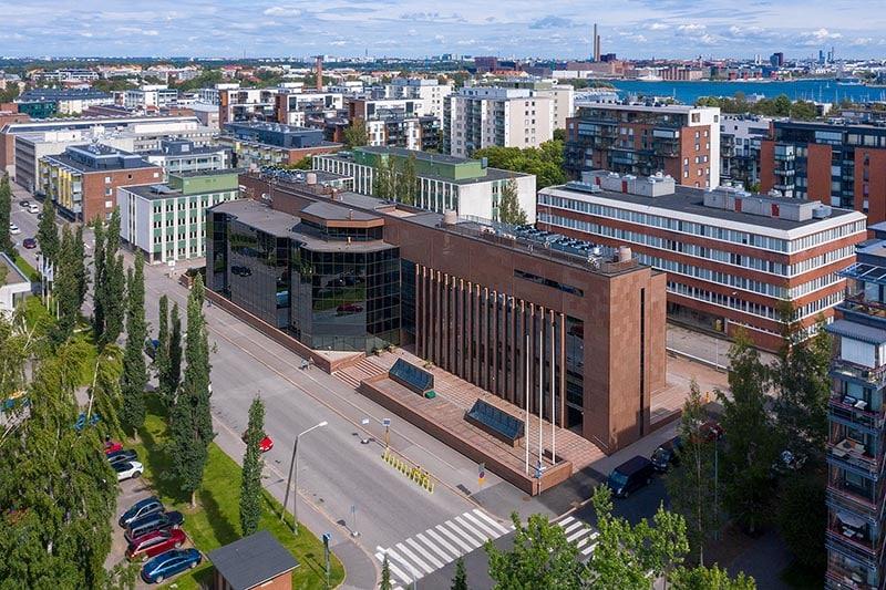 Ilmakuva | Itälahdenkatu 15-17 | Toimitilat Helsinki, Lauttasaari