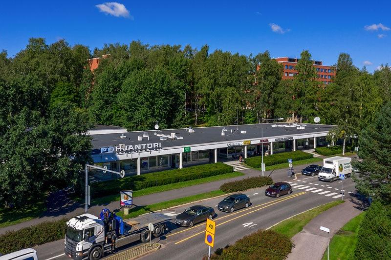 Louhentie 2 Espoo, Pohjantorin liikekeskuksesta JMB Kiinteistöt